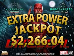 DAREDEVILでEXTRA POWER賞金2,266.04ドル!