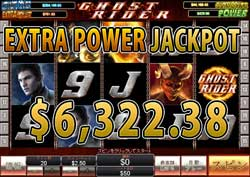 GHOST RIDERでEXTRA POWER賞金6,322.38ドル!
