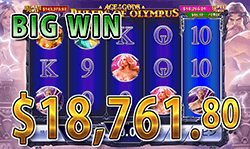 Age of the Gods: Rulers Of Olympus で 大勝利 賞金18,761.80ドル 獲得!